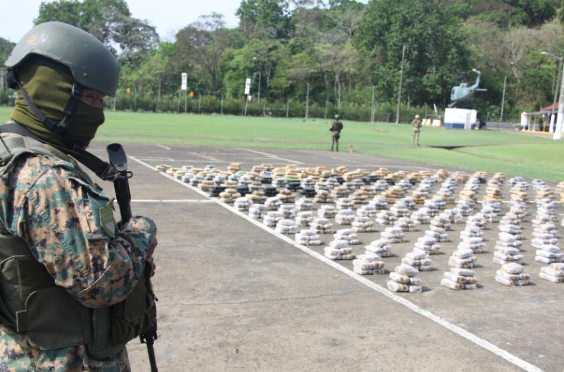 Más de mil paquetes de droga, decomisados en dos operaciones